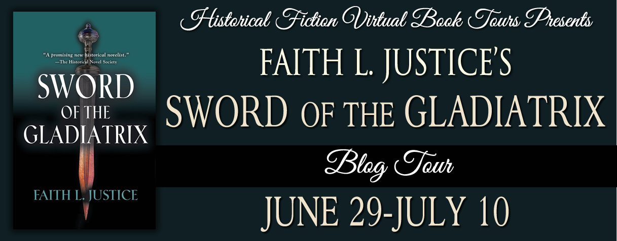 Event: Sword of the Gladiatrix blog tour